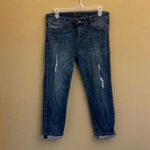 Kut from the Kloth Amy Cropped Straight jeans